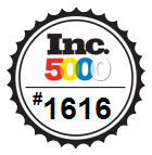 Internet Creations Ranked #1616 on 2013 Inc 5000 list