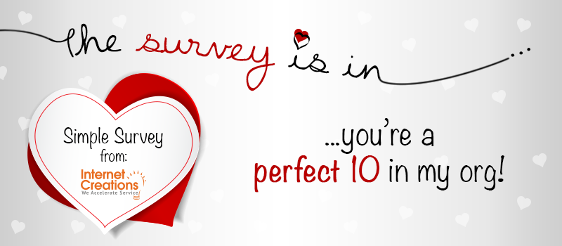 Simple Survey Valentine