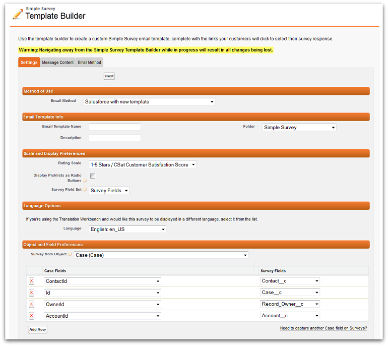Simple Survey for Salesforce v2.12 now available on the AppExchange