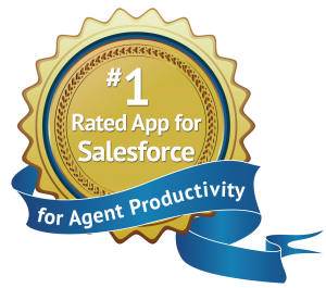 #1 App for Agent Productivity on the AppExchange