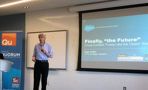 Peter Coffee at PhillyForce 2015