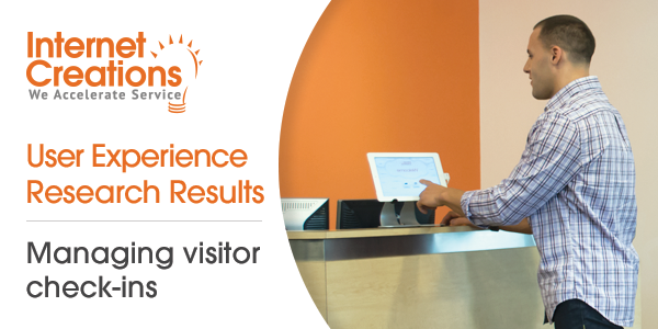 Visitor Check In Survey Front Desk for Salesforce
