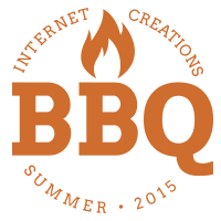Internet Creations Summer 2015 Company Barbecue logo