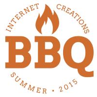 Internet Creations Summer 2015 Company Barbecue logo