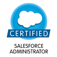 salesforce certified administrator logo