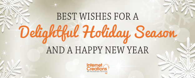 Holiday Greetings from Internet Creations
