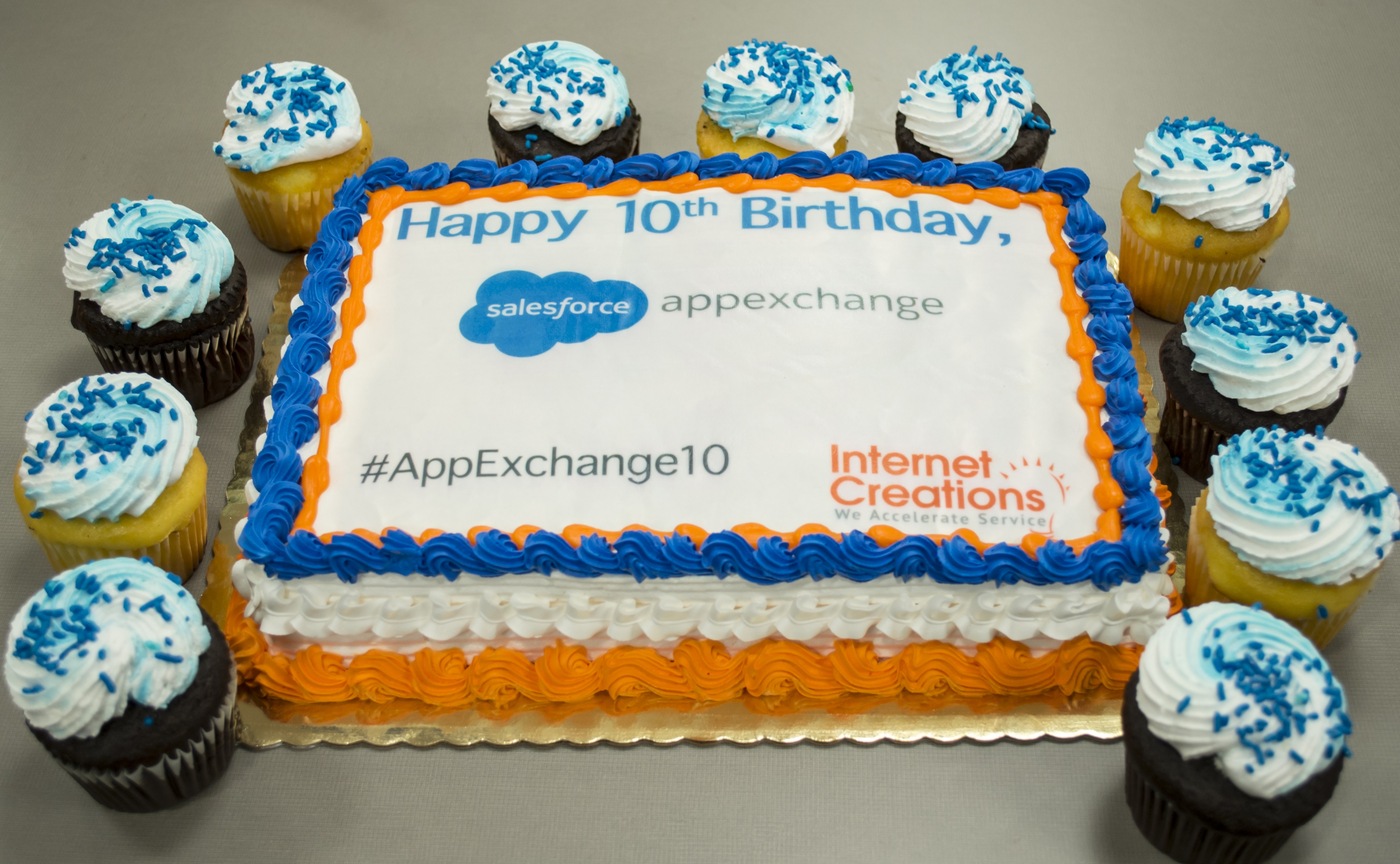 Internet Creations AppExchange 10 Cake