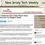 Internet Creations Featured in New Jersey Tech Weekly