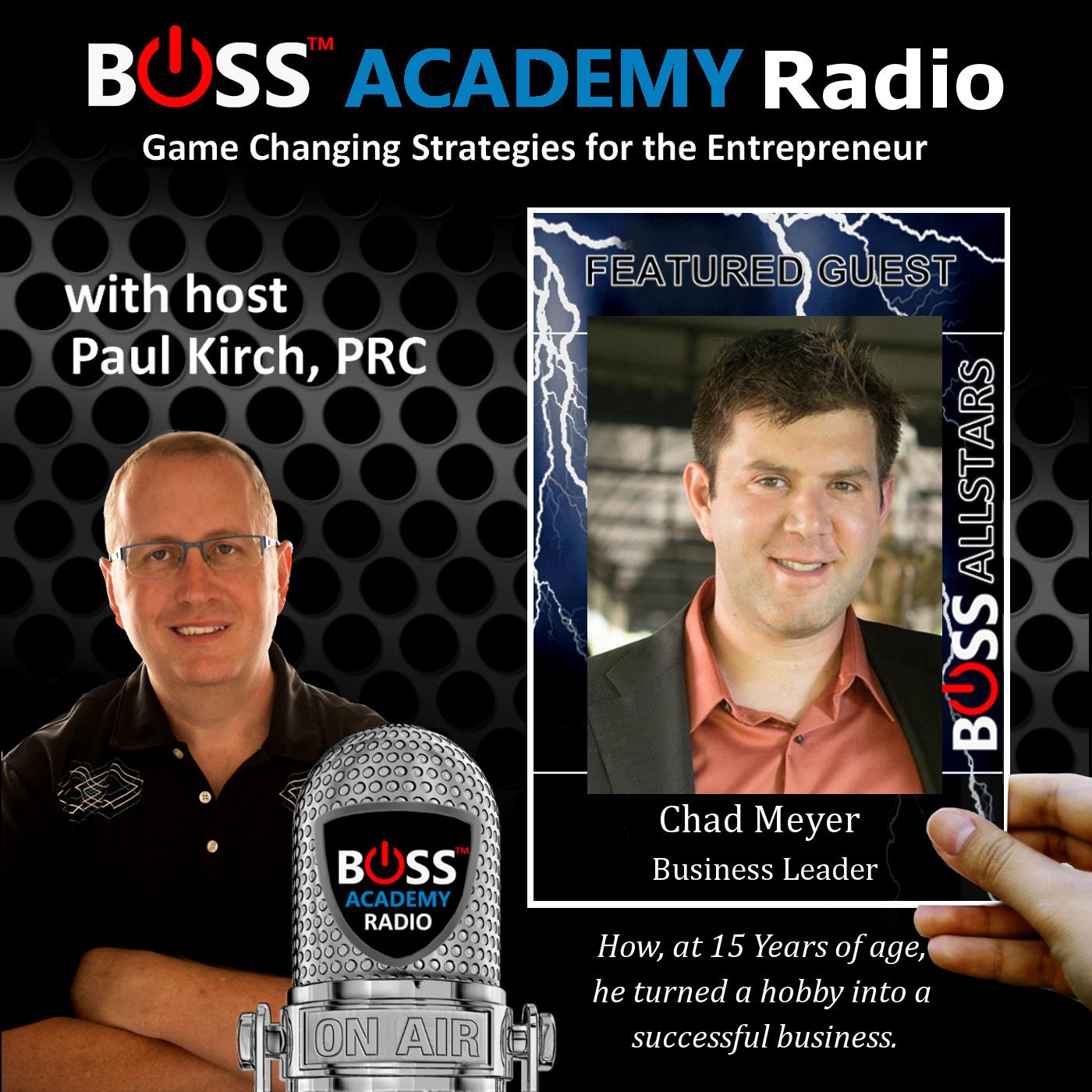 Chad Meyer Boss Academy Radio