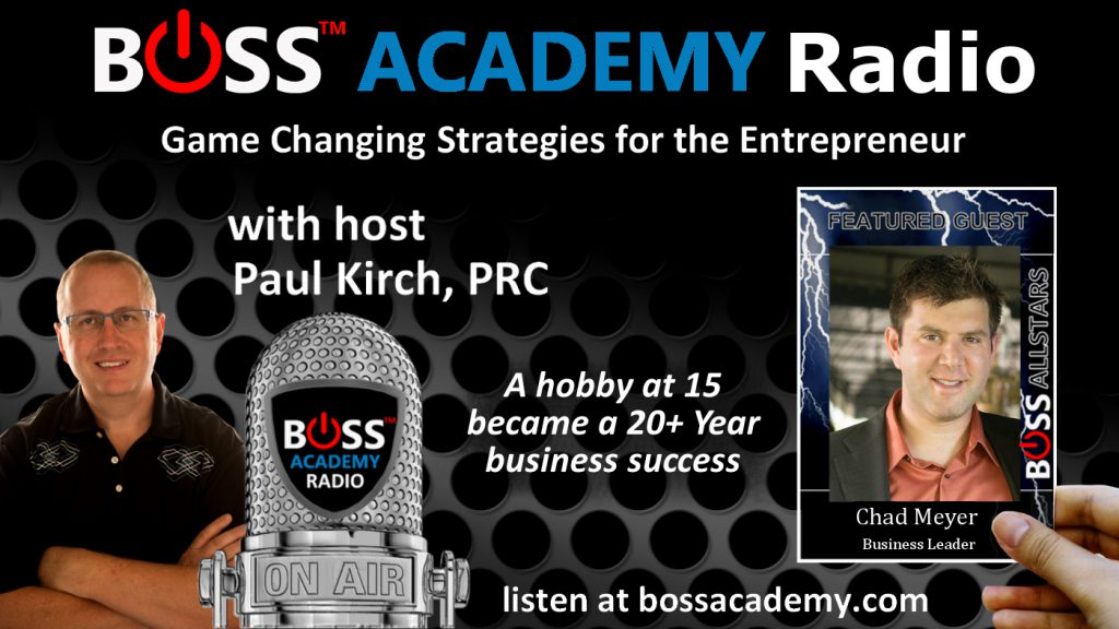 Chad Meyer on Boss Academy Radio