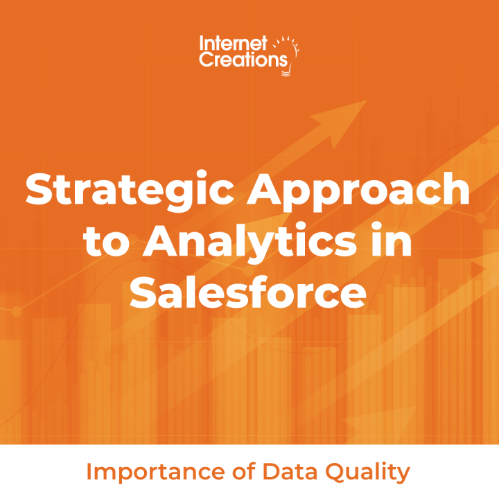 Strategic Approach to Analytics - Importance of Data Quality