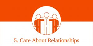 IC Way Fundamental #5 Care About Relationships